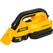 DeWALT® DC515K 18V Cordless 1/2 Gallon Wet/Dry Portable Vac