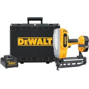 "DeWALT® DC616K 18V Cordless XRP™ 1-1/4"" - 2-1/2"" 16 Gauge Straight Finish Nailer Kit"