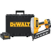 "DeWALT® DC618K 18V Cordless XRP™ 1-1/4"" - 2-1/2"" 16 Ga. 20° Angled Finish Nailer Kit"
