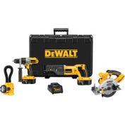 DeWALT® DCK450X XRP™ 18V Cordless 4-Tool Combo Kit, w/ Circular Saw
