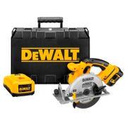 "DeWALT® DCS390L 6-1/2"" (165mm) 18V Cordless XRP™ Li-Ion Circular Saw Kit"