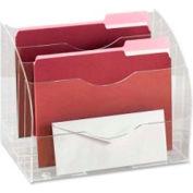 Rubbermaid® Two-Way Desktop Organizer Clear