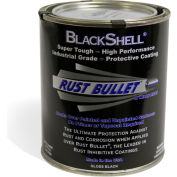 Rust Bullet BlackShell Rust Inhibitive Coating Quart Can 1/Case - BSQ