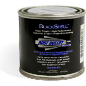 Rust Bullet BlackShell Rust Inhibitive Coating 1/4 Pint Can 24/Case - BSQP