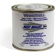 Rust Bullet WhiteShell Rust Inhibitive Coating 1/4 Pint Can 24/Case - WSQP-C24