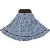 Rubbermaid® Large Maximizer Synthetic Blend Wet Mop, Looped End, Blue - 1924782 - Pkg Qty 6