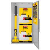 Rubbermaid® Spill Mop Kit, Cabinet/Spill Mop Pads/Spill Mop Handle - 2031093