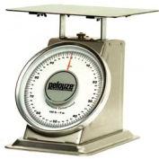 "Rubbermaid FG10100S Pelouze Heavy-Duty Receiving Digital Scale 100lb x 4 oz 13"" x 13"" Platform"