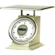 "Rubbermaid FG10200 Pelouze Heavy-Duty Receiving Digital Scale 200lb x 8 oz. 15-1/2"" x 15-1/2"""