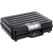"Rubbermaid FGP100S Pelouze Briefcase Receiving Dial Scale 100lb x 1lb 10-1/2"" x 13-1/4"" x 3-7/8"""