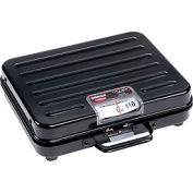"Rubbermaid FGP114S Pelouze Briefcase Receiving Digital Scale 250lb x 1lb 10-1/2"" x 13-1/4"" x 3-7/8"""