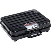 "Rubbermaid FGP250S Pelouze Briefcase Receiving Digital Scale 250lb x 1lb 10-1/2"" x 13-1/4"" x 3-7/8"""