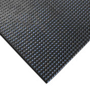 "Rubber-Cal ""Super-Grip Scraper"" Rubber Runner Mats, Traction Mat, 3/16 THK x 4'W x 6'L, Black"