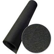 "Rubber-Cal ""Elephant Bark"" Rubber Flooring Rolls, 1/4""THK x 4'W x 6.5'L, All Black"