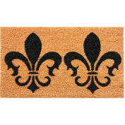 Rubber-Cal The Clovis Legend w/Border Door Mat 2' x 57 Coir