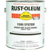 Rust-Oleum 1500 System <600 VOC Speedy-Dry Alkyd Enamel New Caterpillar Yellow 1547300