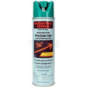 Rust-Oleum M1600 Solvent-Based -Line Inverted Marking Paint Aerosol, Safety Green - Pkg Qty 12