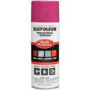 Rust-Oleum Industrial 1600 System General Purpose Enamel Aerosol, Safety Purple 16 oz. Can - 1670830 - Pkg Qty 6