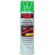 Rust-Oleum M1600 Solvent-Based Precision-Line Inverted Marking Paint Aero, Fluor. Green - Pkg Qty 12