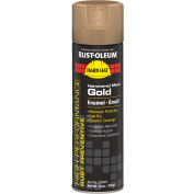 Rust-Oleum High Performance V2100 System Hammered Aerosol, Metal Gold 20 oz. Can - 209563 - Pkg Qty 6