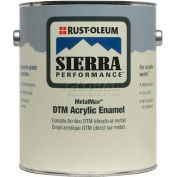 Rust-Oleum Sierra Performance Metalmax 0 VOC DTM Acrylic Enamel, Semi-Gloss Safety Red 1 Gal- 210475 - Pkg Qty 2