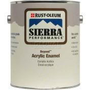 Rust-Oleum Sierra Performance Beyond 0 VOC Acrylic Enamel, Satin Clear Gallon Can - 210479 - Pkg Qty 2