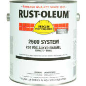 Rust-Oleum 2500 System <250 VOC DTM Alkyd Enamel Safety Yellow Gallon Can - 215950 - Pkg Qty 2