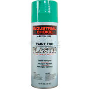 Rust-Oleum P1600 System Paint For Plastic Aerosol, Safety Green 16 oz. Can - 223881 - Pkg Qty 6