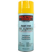 Rust-Oleum P1600 System Paint For Plastic Aerosol, Safety Yellow 16 oz. Can - 223882 - Pkg Qty 6