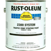 Rust-Oleum 2300 System <100 VOC Traffic Zone Striping Paint, Yellow, 5 Gal.