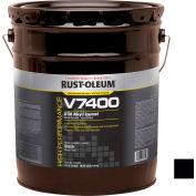 Rust-Oleum V7400 Series <340 VOC DTM Alkyd Enamel, High Gloss Black 5 Gallon Pail - 245405