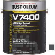 Rust-Oleum V7400 Series <340 VOC DTM Alkyd Enamel, Machine Tool Gray Gallon Can - 245409 - Pkg Qty 2