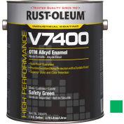 Rust-Oleum V7400 Series <340 VOC DTM Alkyd Enamel, Safety Green Gallon Can - 245476 - Pkg Qty 2