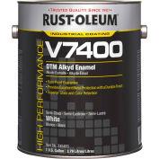 Rust-Oleum V7400 Series <340 VOC DTM Alkyd Enamel, Semi-Gloss White Gallon Can - 245483 - Pkg Qty 2