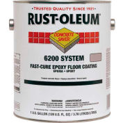 Rust-Oleum 6200 System <250 VOC Fast-Cure Epoxy Floor Coating, Silver Gallon Kit - 251763