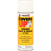Zinsser® COVERS UP® Ceiling Paint & Primer In One Spray, White 13 oz. Can - 3688 - Pkg Qty 6