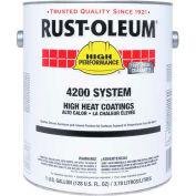 Rust-Oleum 4200/4300 System High Heat Coating (<650 g/l VOC High Temp), Aluminum 2 Gal Can - 4215303