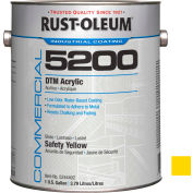Rust-Oleum 5200 System < 250 VOC DTM Acrylic, Safety Yellow Gallon Can - 5244402 - Pkg Qty 2