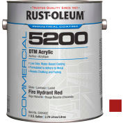 Rust-Oleum 5200 System <250 VOC DTM Acrylic, Fire Hydrant Red Gallon Can - 5265402 - Pkg Qty 2
