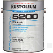 Rust-Oleum 5200 System < 250 VOC DTM Acrylic, Tower White Gallon Can - 5291402 - Pkg Qty 2