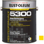 Rust-Oleum 5300 System <250 Voc Water-Based Epoxy Safety Yellow 5344408 - Pkg Qty 2