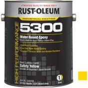 Rust-Oleum 5300 System <250 Voc Water-Based Epoxy Safety Yellow 5344408 - Pkg Qty 2