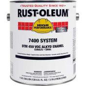 Rust-Oleum V7500 Series <450 VOC DTM Alkyd Enamel, Semi-Gloss Pleasant Green Gallon Can - 7232402 - Pkg Qty 2