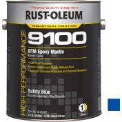 Rust-Oleum 9100 System <340 VOC DTM Epoxy Mastic, Safety Blue Gallon Can - 9125402 - Pkg Qty 2