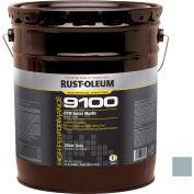 Rust-Oleum 9100 System <340VOC DTM Epoxy Mastic, Silver Gray 5 Gallon Pail - 9182300