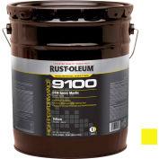 Rust-Oleum 9100 System <340VOC DTM Epoxy Mastic, High Hide Yellow 5 Gallon Pail - A914414300