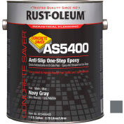 Rust-Oleum As5400 System <340 VOC AntiSlip One-Step Epoxy Floor Coat, Navy Gray Gal Can - AS5486402 - Pkg Qty 2
