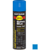 Rust-Oleum High Performance V2100 Rust Preventive Enamel Aerosol, Safety Blue, 15 oz. - V2124838 - Pkg Qty 6