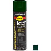 Rust-Oleum High Performance V2100 Rust Preventive Enamel Aerosol, Hunter Green, 15 oz. - V2138838 - Pkg Qty 6