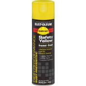 Rust-Oleum High Performance V2100 Rust Preventive Enamel Aerosol, Safety Yellow 20 oz. Can- V2143838 - Pkg Qty 6